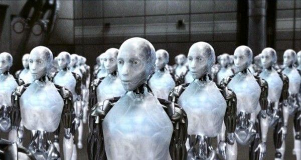 Render of robots