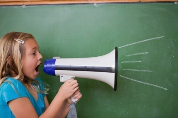 Speak up child