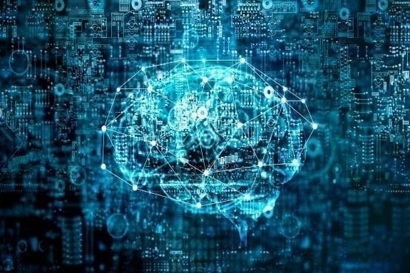 Graphic depicting AI