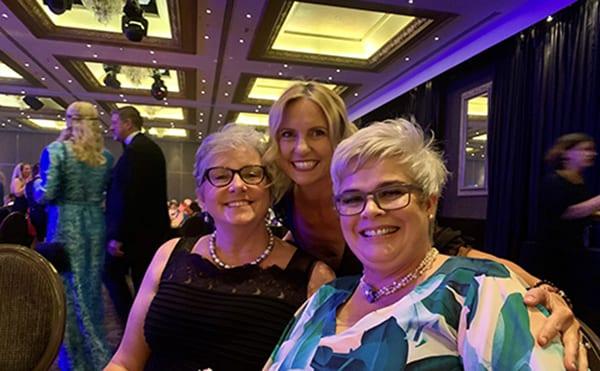 Sue Dobbie-Ede, Client Success Consultant, Aotal (left) Tamara Melville, Account Director, Talegent (middle) Lynne Allison, Team Leader Recruitment, NZ Customs (right)